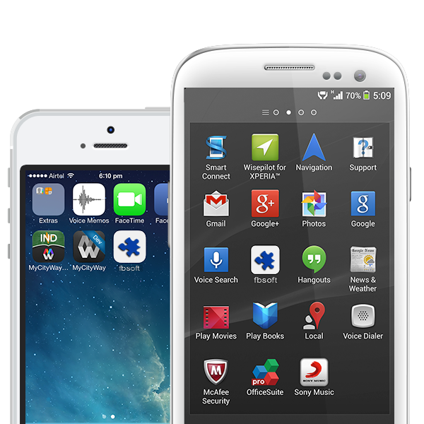 Flatron Mobile Apps
